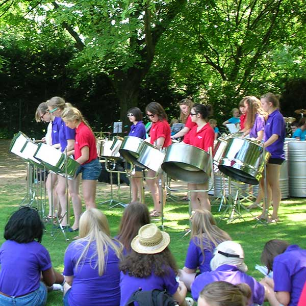 Band Under the Trees